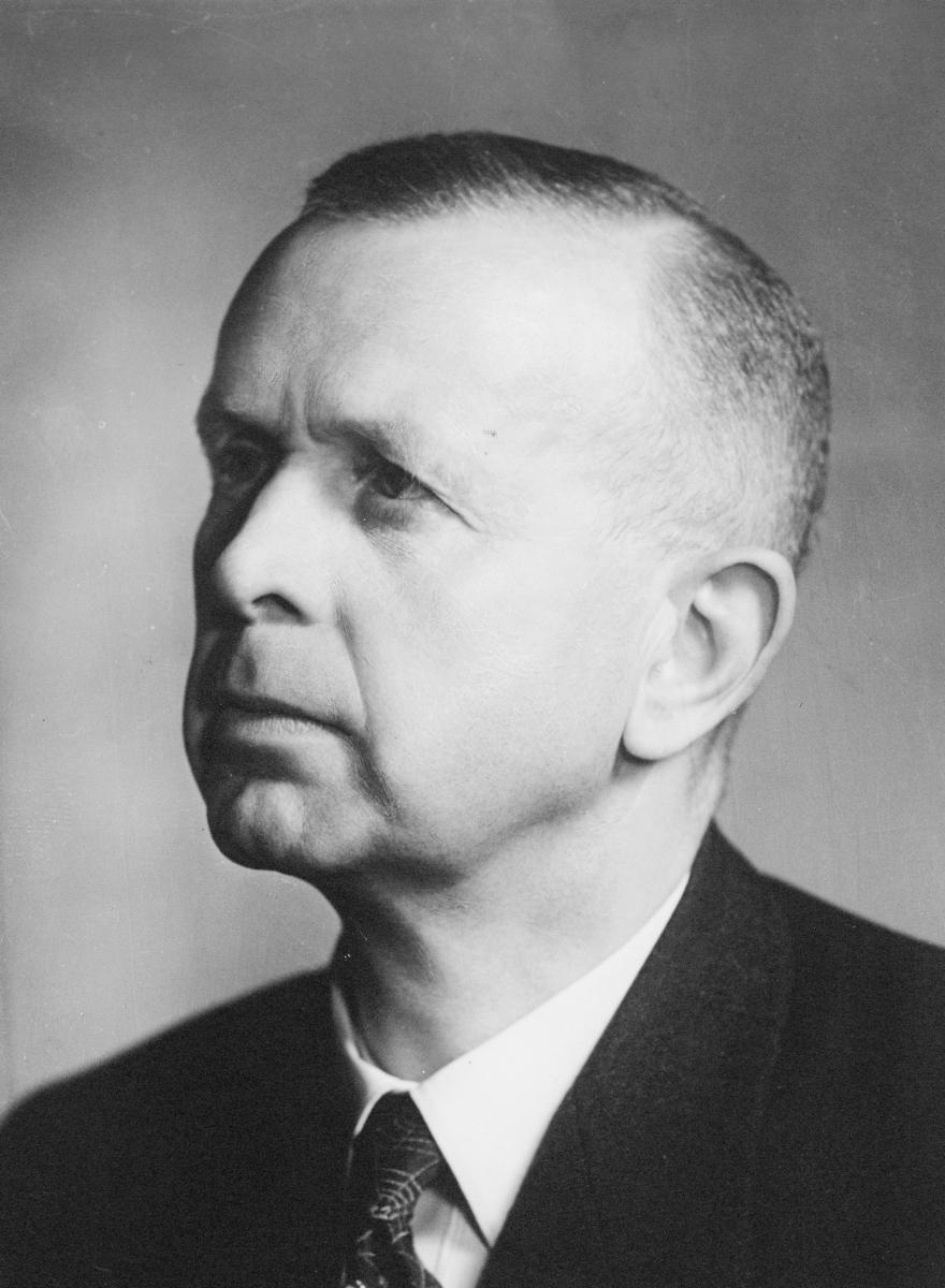 portrett, postmester, Paul Sverre Tengesdal