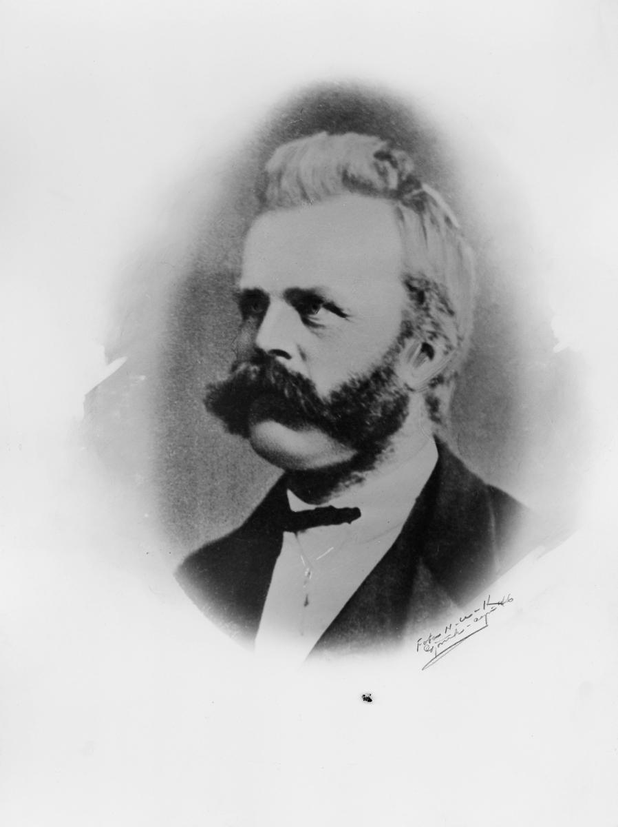 postmester, Veum Andres Jørgensen, portrett