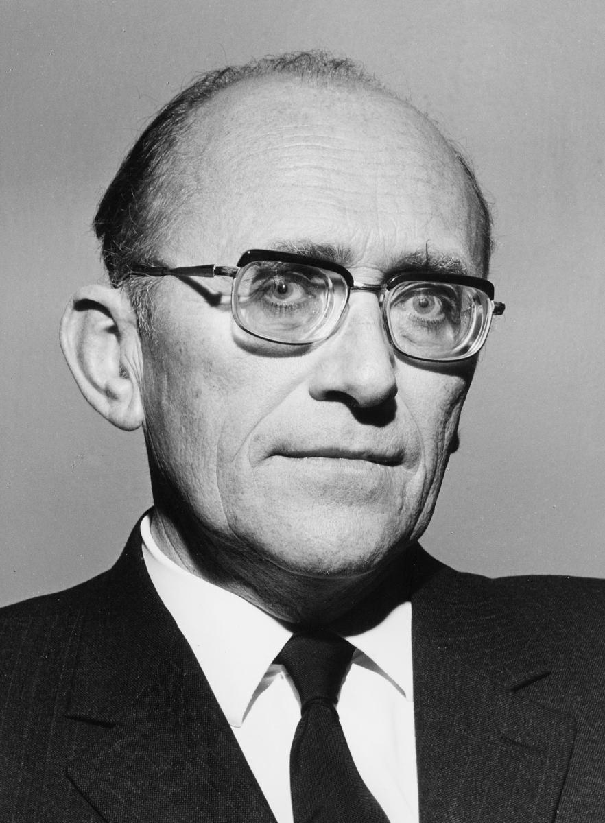 portrett, Gunnar Bøe, Styret for Postverket, 1969-1973