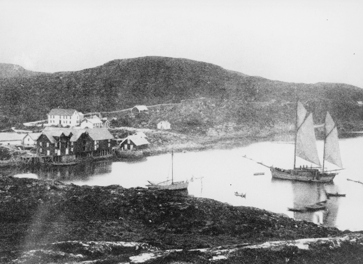 norgesbilder, Bjarkøy, vann, båt, hus