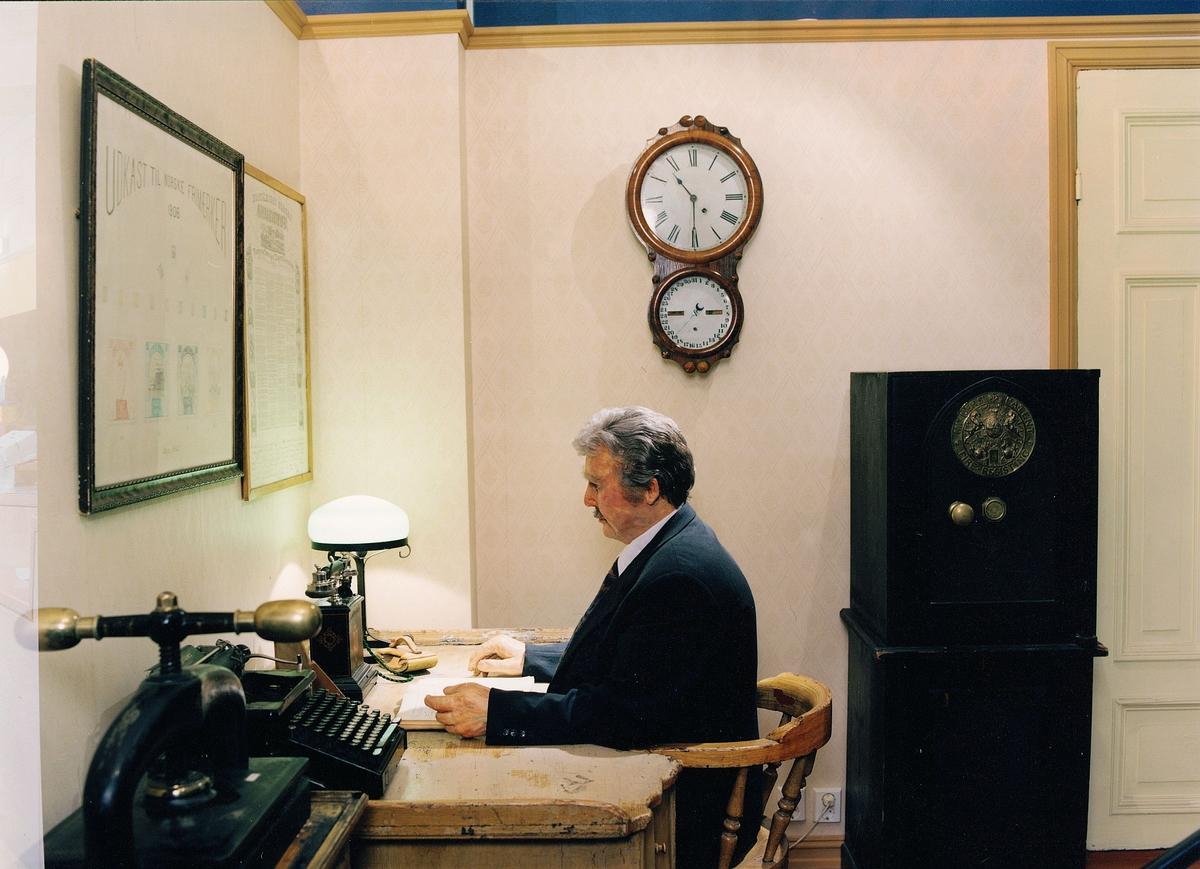 Postmuseet, Oslo, utstilling, postmesterkontor, postmesteren