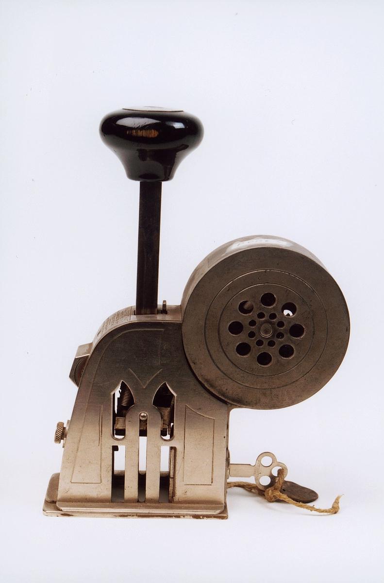 Postmuseet, gjenstander, apparat, frimerker, frimerkekontrollapparat, Multipost