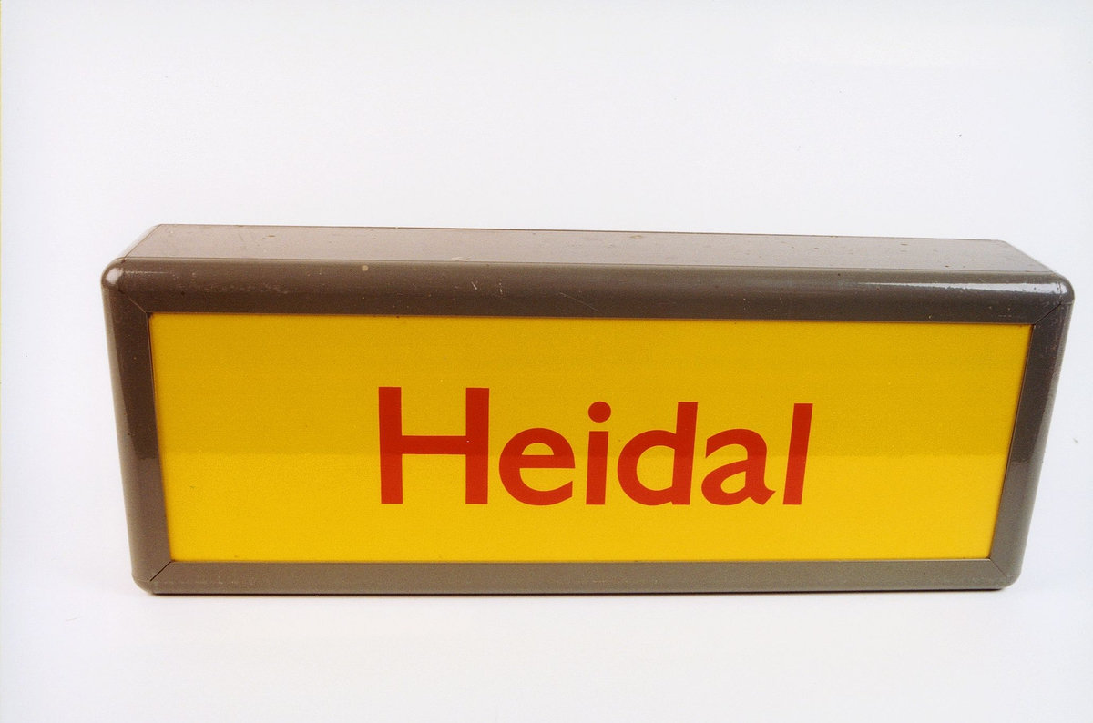 postmuseet, gjenstander, skilt, stedskilt, stedsnavn, Heidal