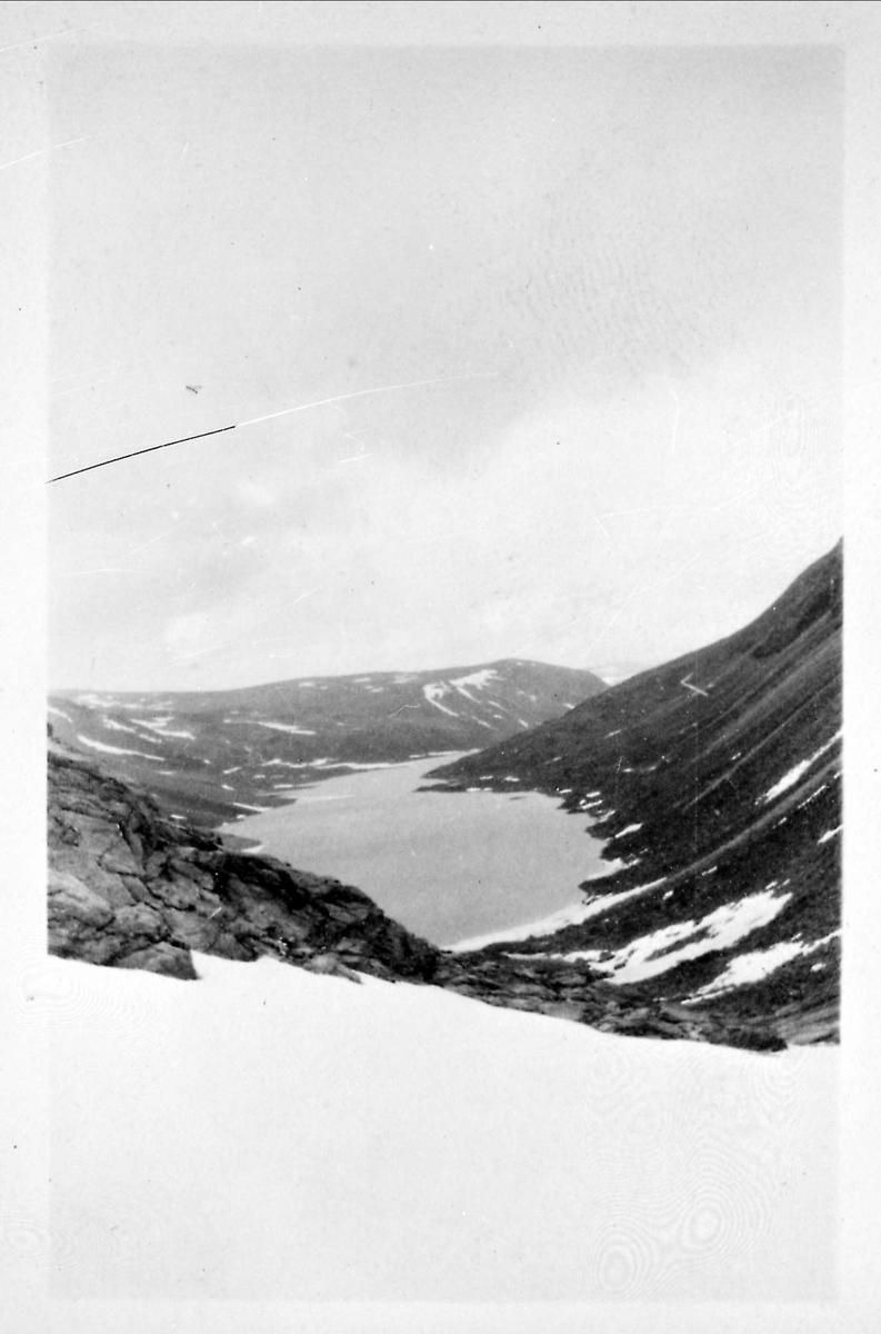 Landskap, fjell, snø