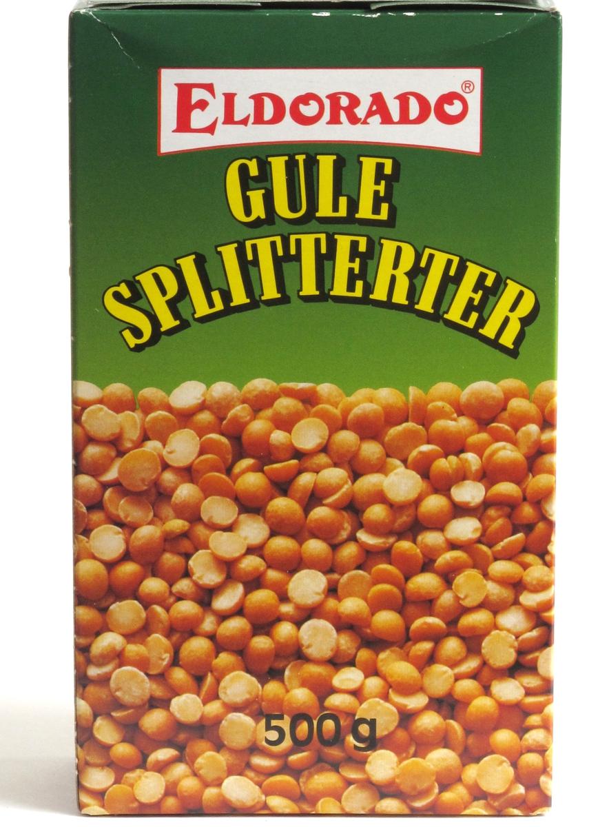 Gule splitterter