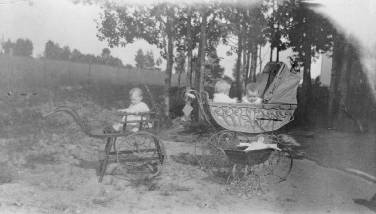 Barn og barnevogn