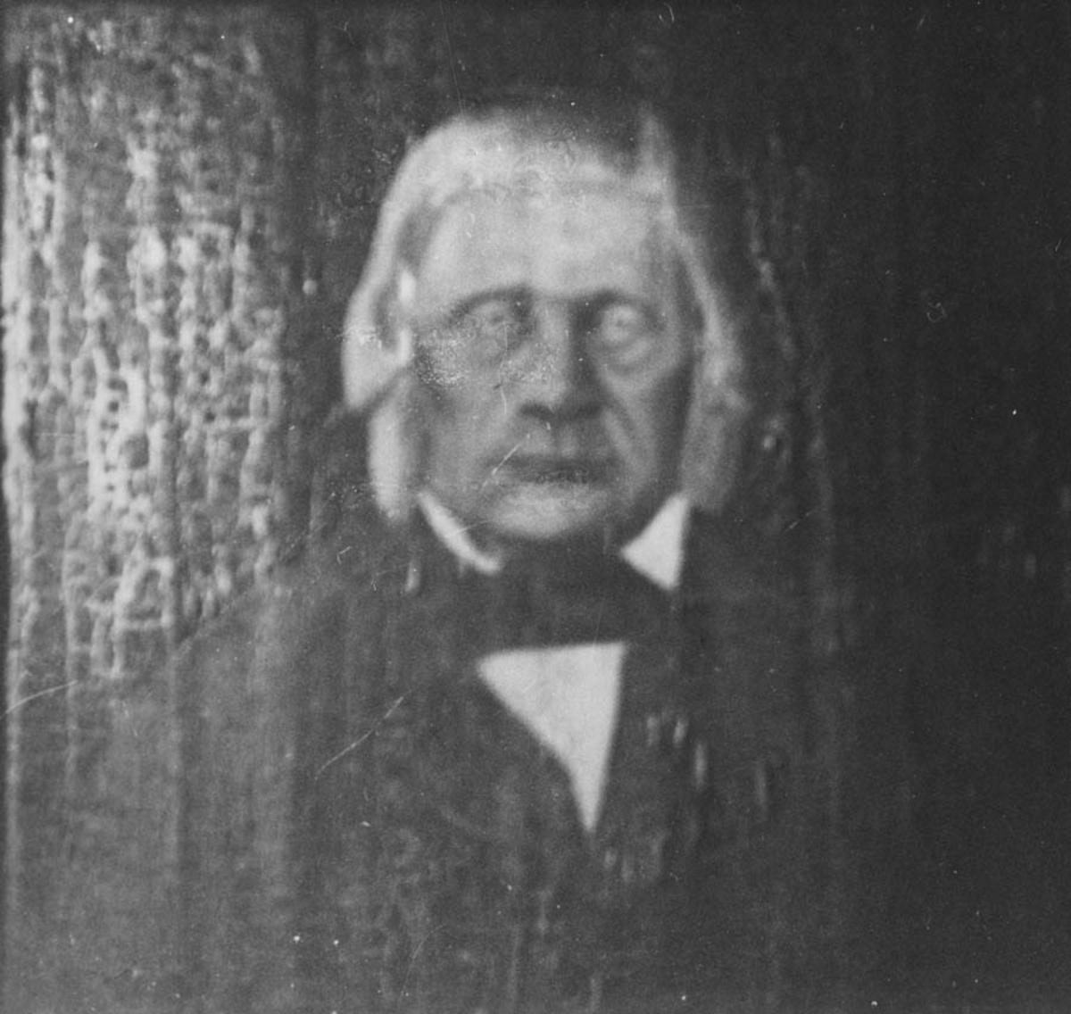 Portrett av Christian Larsen Mørk (1791-1871) malt av A.Eriksen