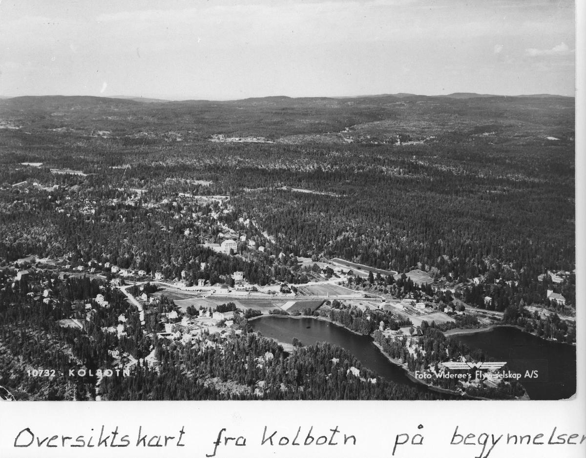 Flyfoto av Kolbotn.