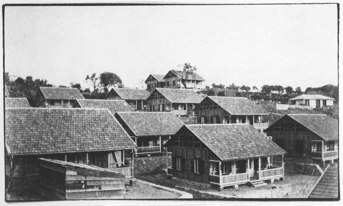 Messina 1909.  Strømmen Trevarefabrikk.