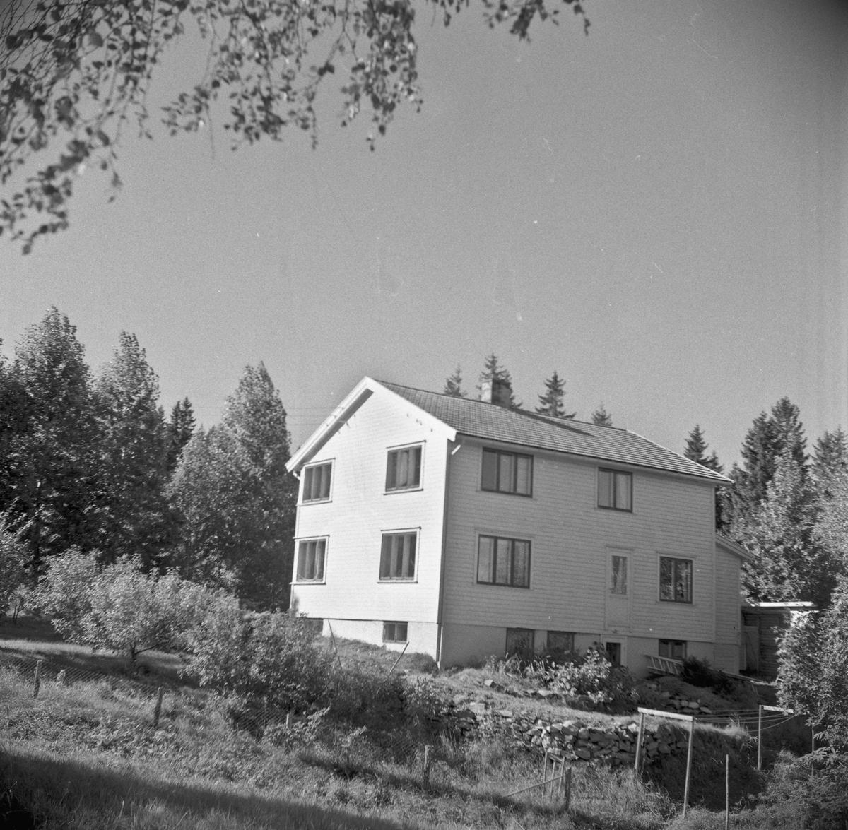 Fru Asborg Smestad Nilsens villa 18.09.1963.