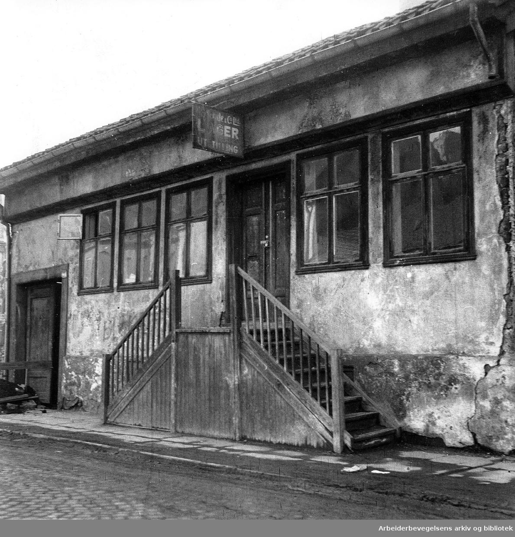 Vaterland, Rødfyllgata 21,.1957