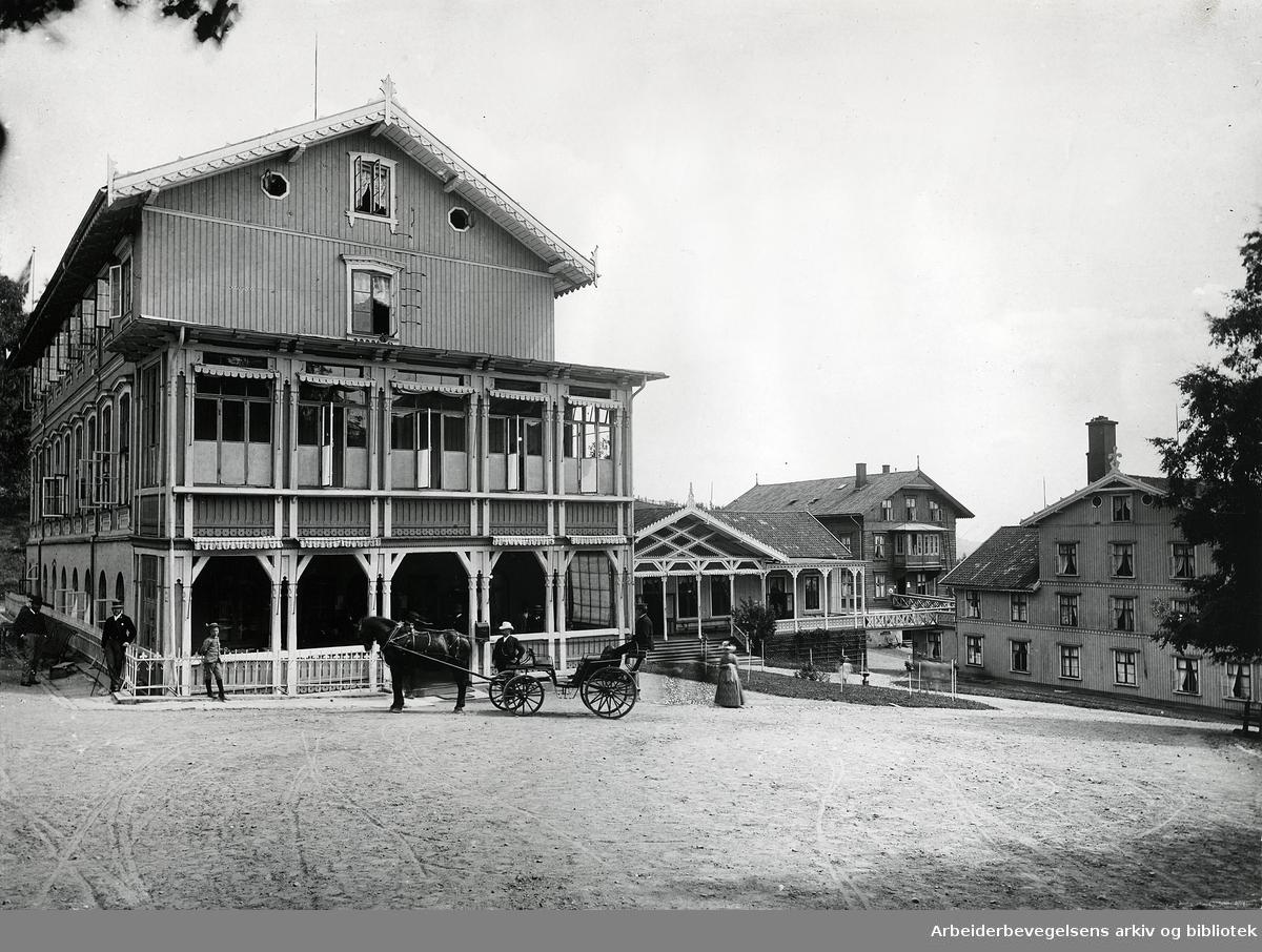 Grefsen sanatorium,.1890-årene