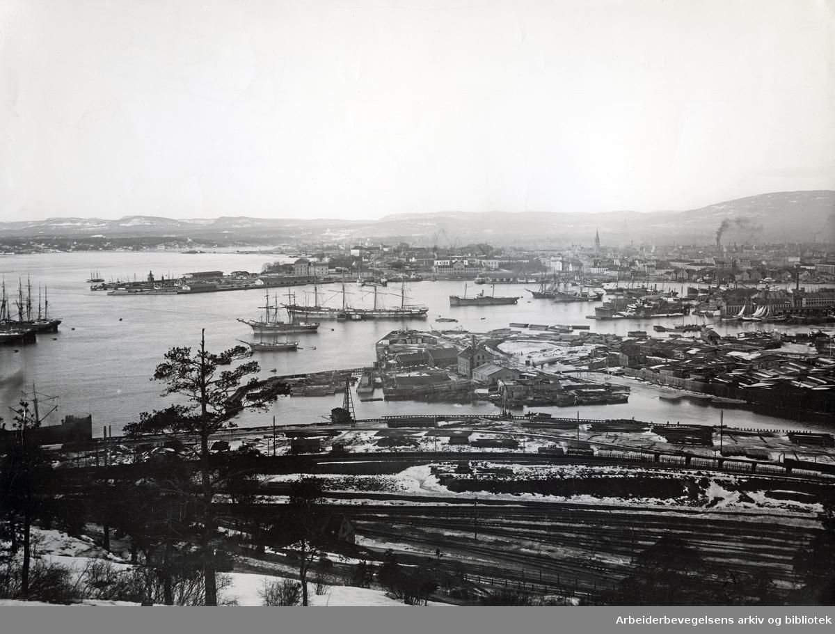 Oslo havn,.1900