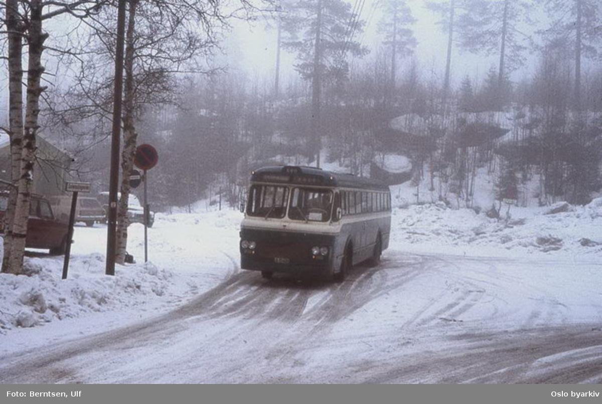 Buss, De Blå Omnibusser, DBO buss A-15452 linje 56.