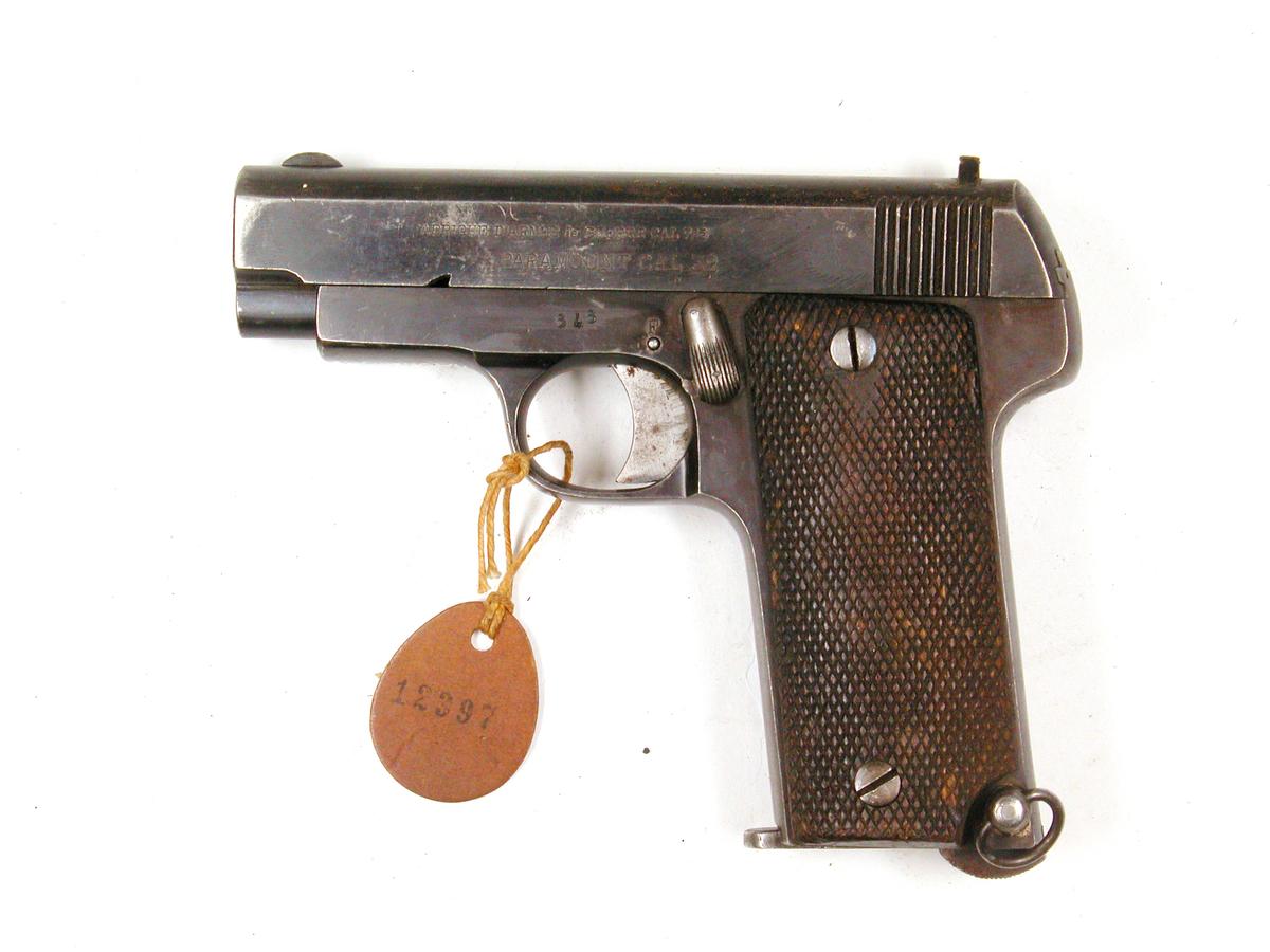 Pistol 7,65 mm Paramount