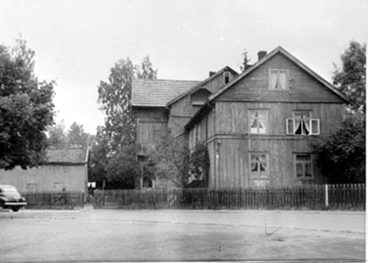 EKSTERIØR BAYSGATE 1, FRANG-GÅRDEN, BAYSGATE/BRYGGERIGATA.