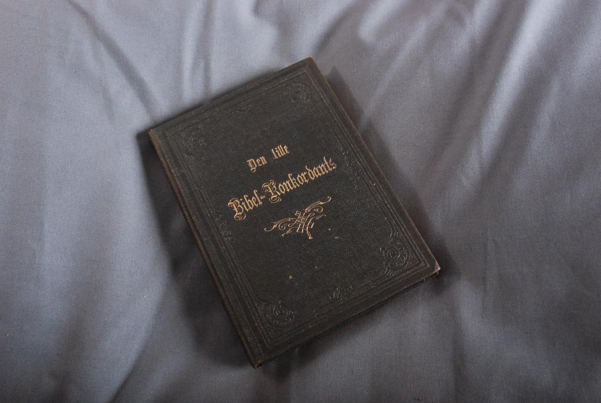 """Innskrift på forsats: """"Til Moder Julaften 1883"""""""