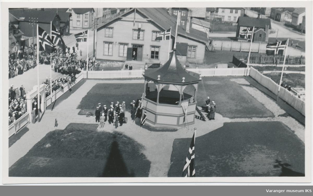 Musikkpaviljongen, Sangens og Musikkens Dag 1937