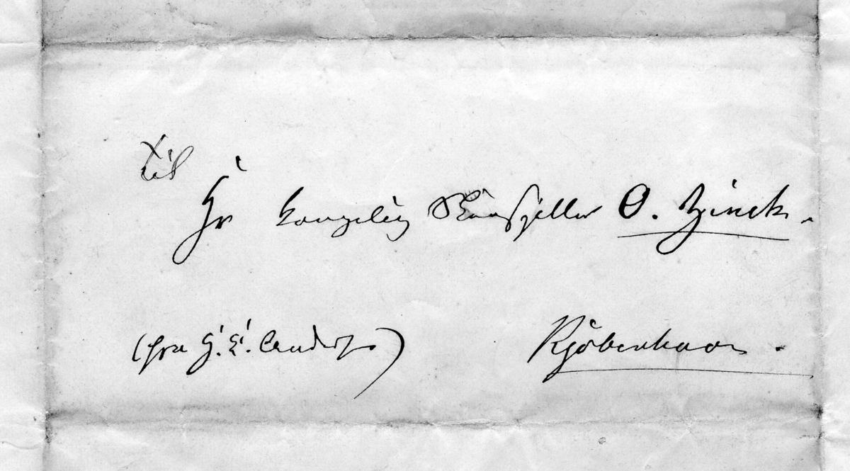 H. C. Andersen dedikasjoner og håndskrifter