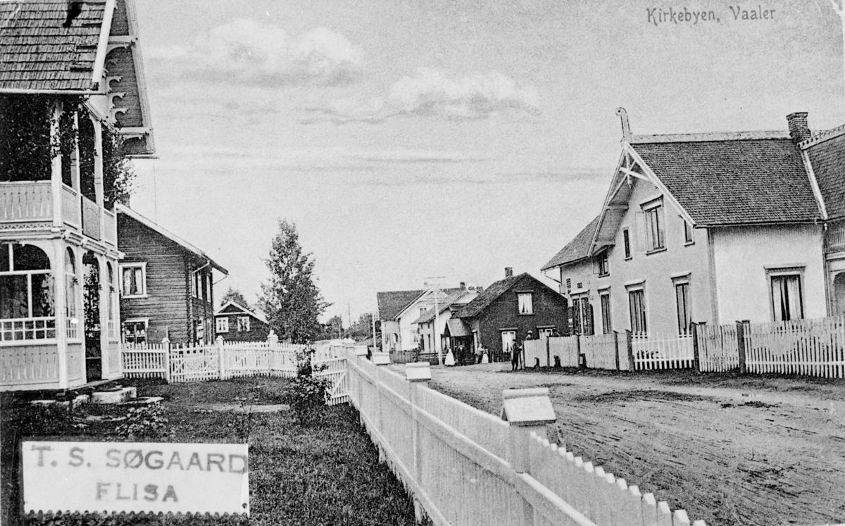 Kirkebyen, Våler