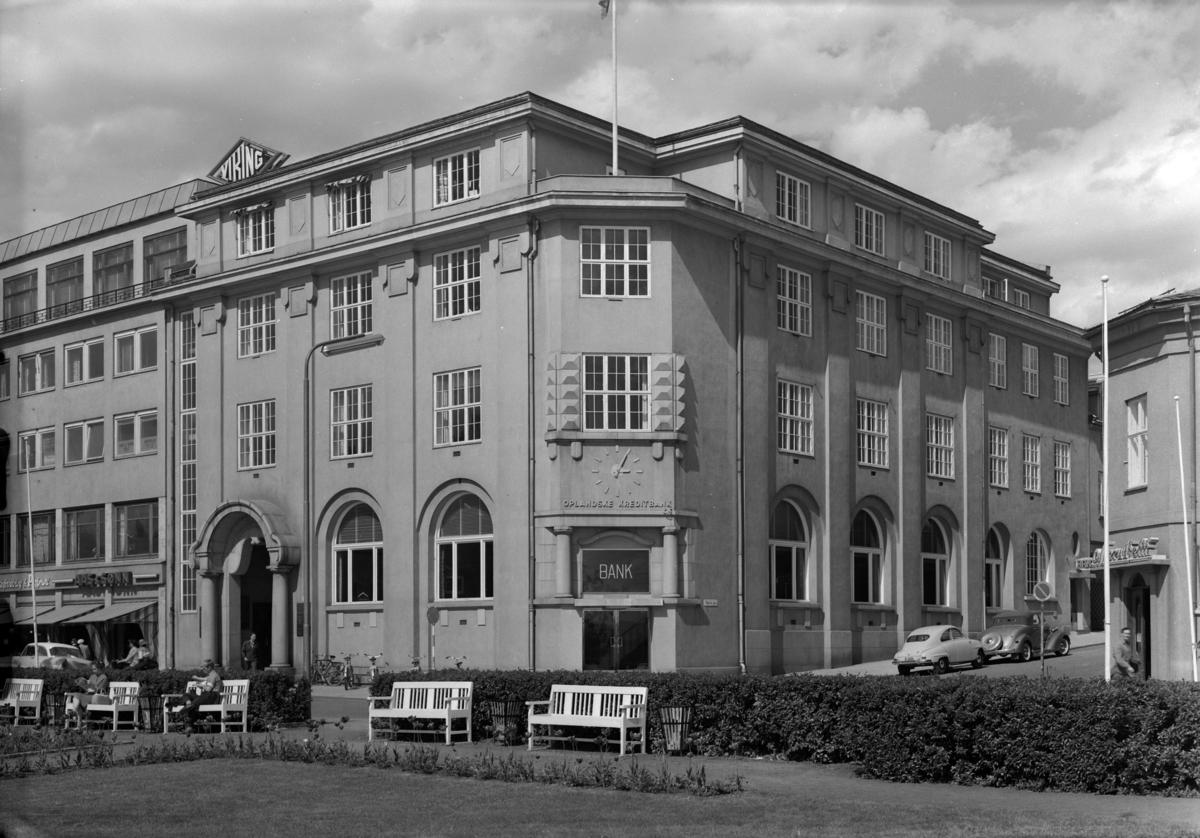 OPLANDSKE KREDITBANK, DEN NORSKE CREDITBANK, EKSTERIØR, 1959.