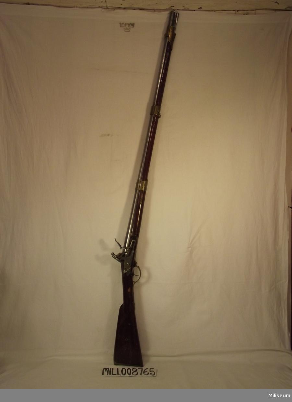 Gevär m/1815-38 vapennummer: 508