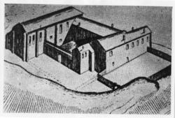 Jönköpings slott. Centrala delarna (Utlånad).