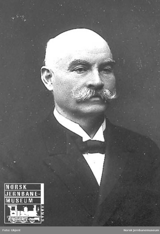 Portrett av generaldirektør Elias Sunde