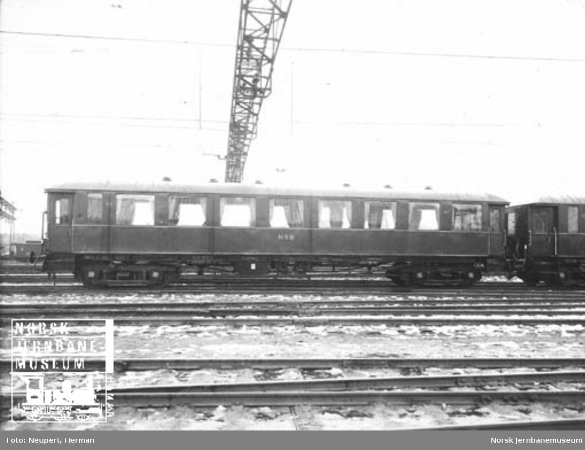 Personvogn litra Co3d nr. 452 til Hardangerbana