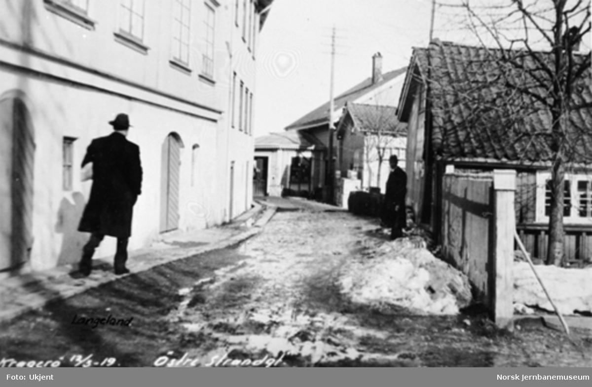 Kragerø, Østre Strandgate