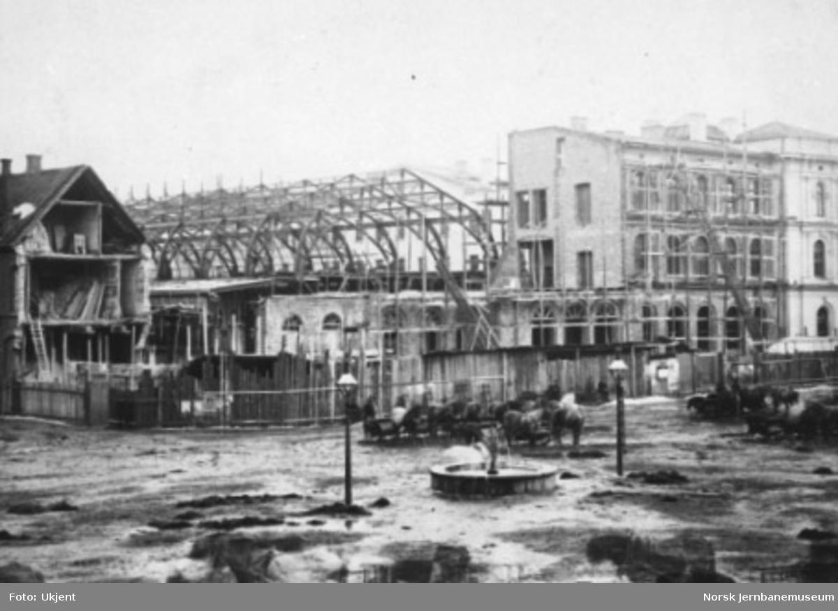 Utvidelse og nybygging av Østbanen med bl.a. ny toghall pågår
