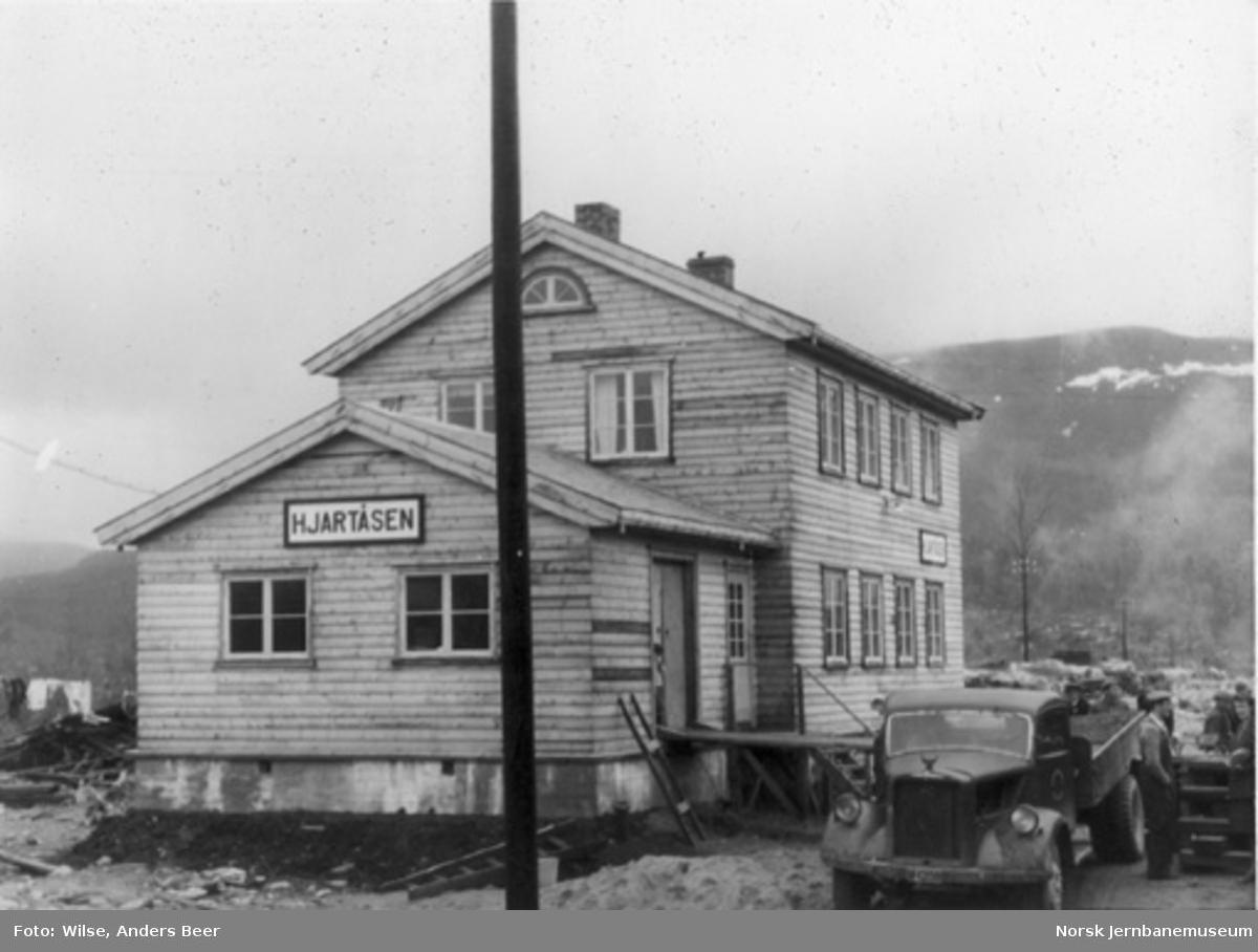 Hjartåsen stasjon