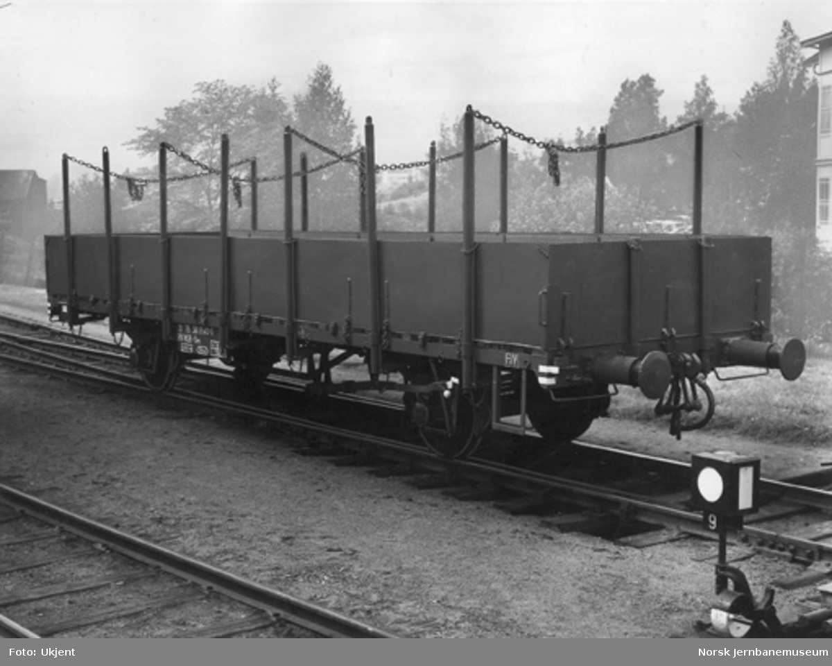 NSB plattformvogn litra Om nr. 21 76 361 0540-5