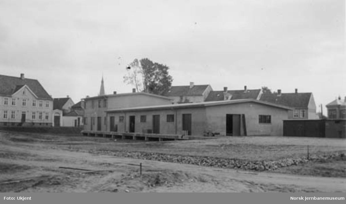 Kristiansand stasjon, nytt godshus