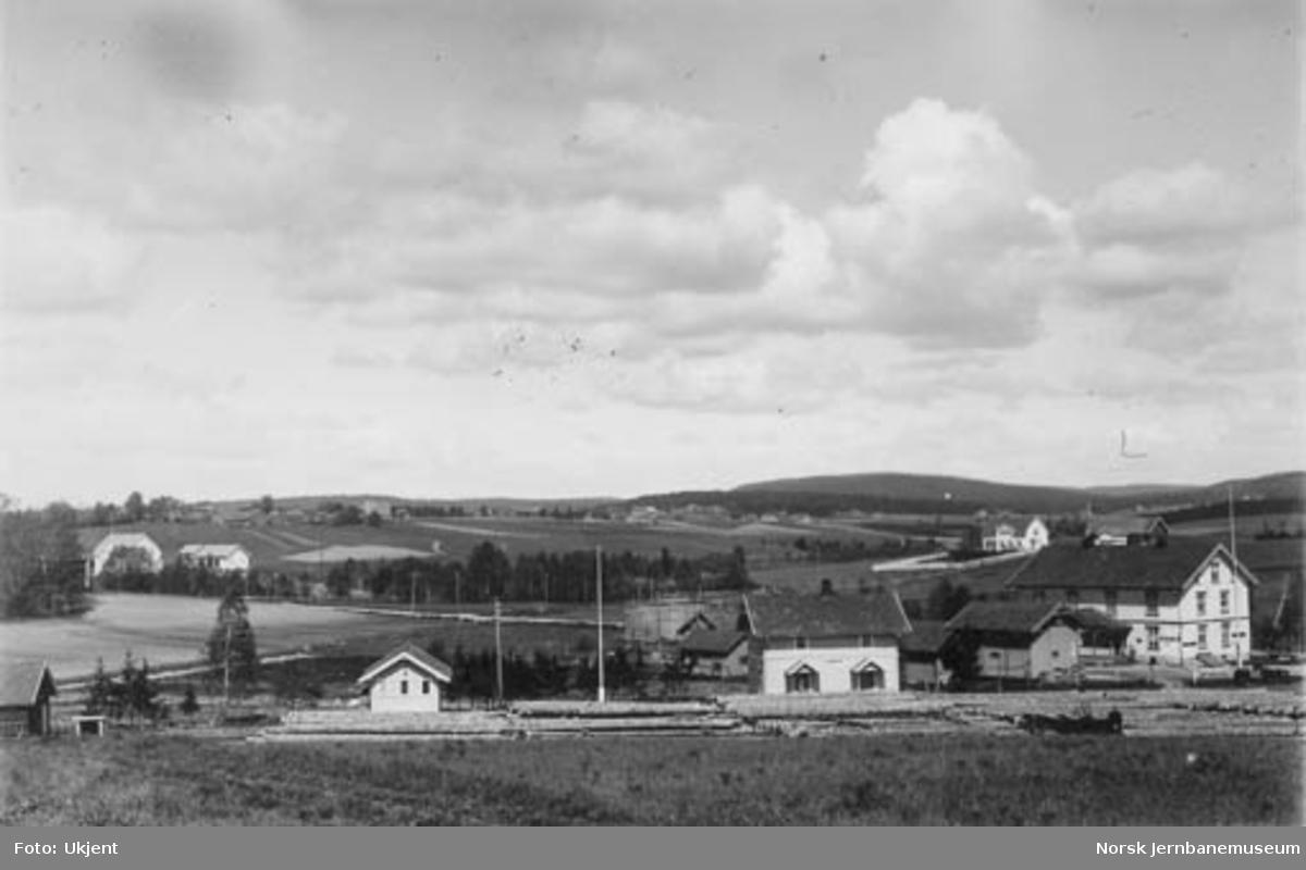 Løken stasjon, oversiktsbilde