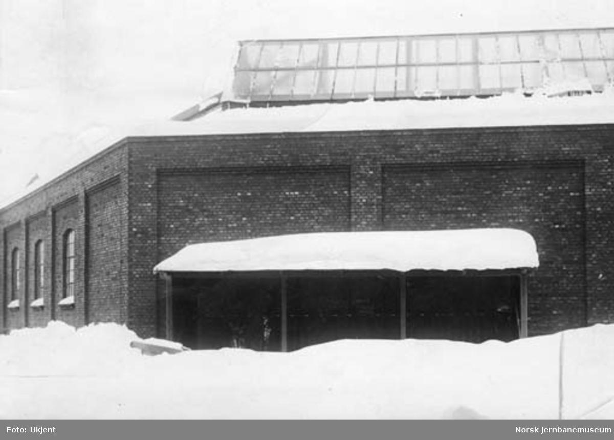 Verkstedet Hamar : lakkeringsverkstedet