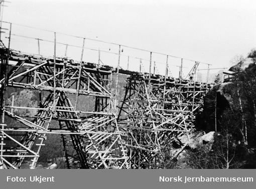 Hunsdalen viadukt : stillaset