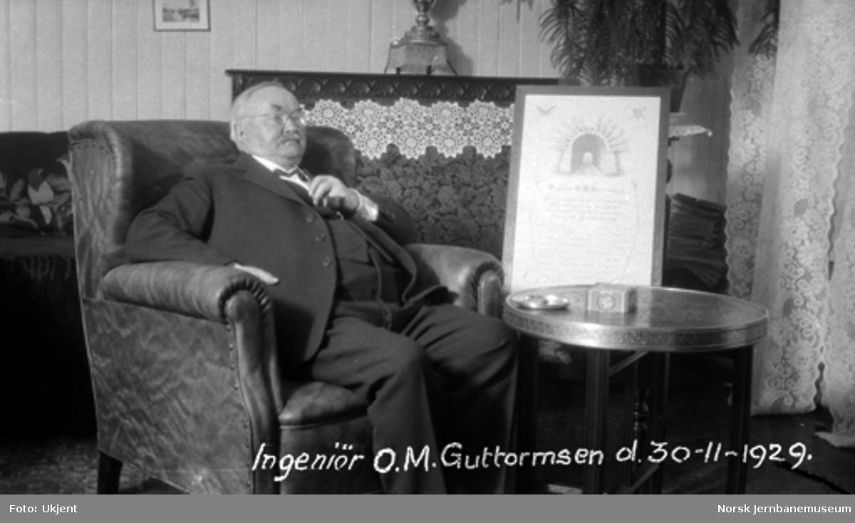 Ingeniør O. M. Guttormsen