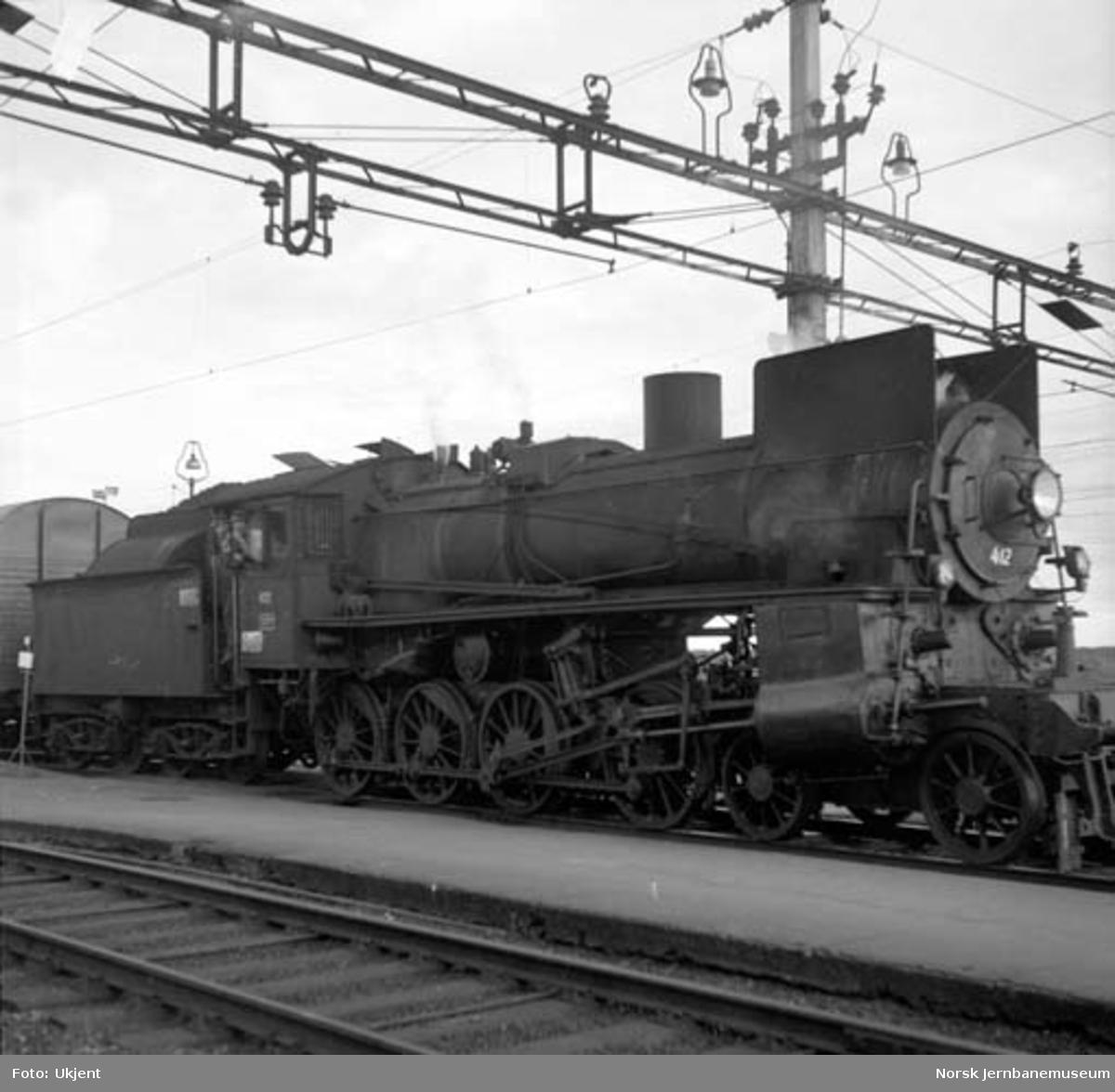 Damplokomotiv type 26c nr. 412