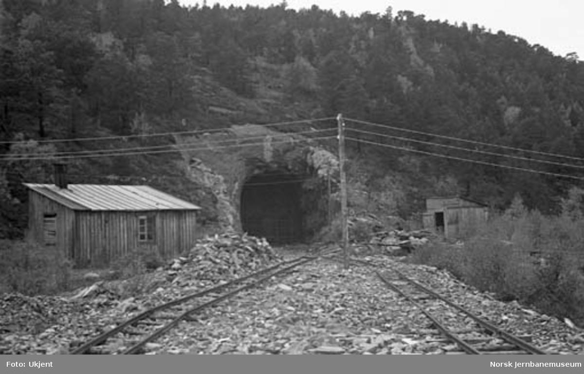 Nordlandsbaneanlegget : søndre innslag til Straumnakken tunnel