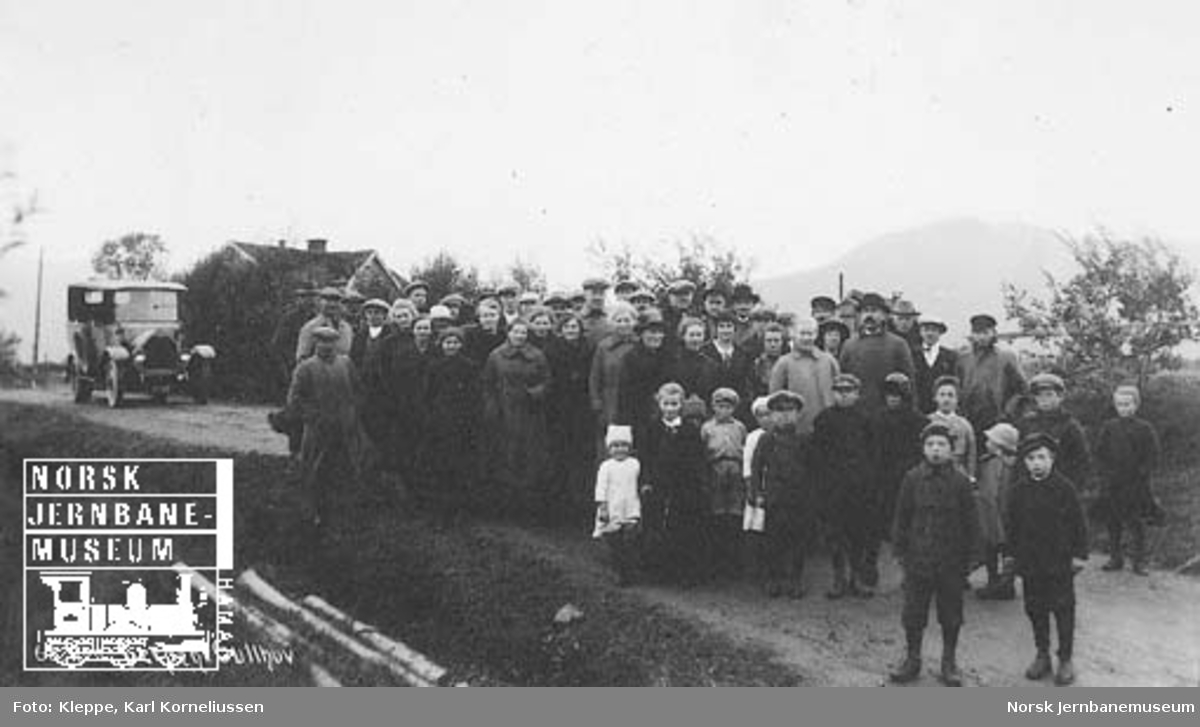 Befaring av Tromsbanen : Gullhov fergeleie
