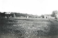 Foto av Johan Myrvolls barndomshjem i Harangsfjord,  Bindal.