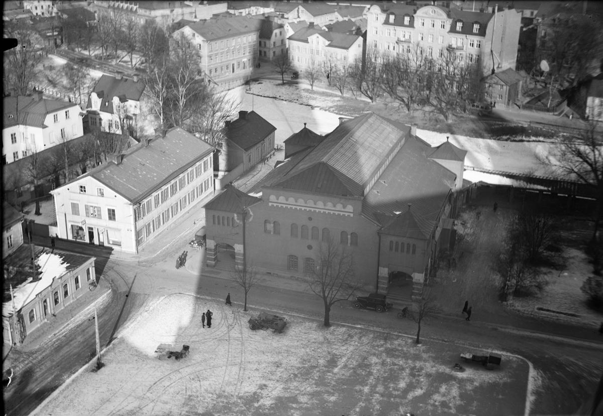 Vy över Saluhallen, Uppsala
