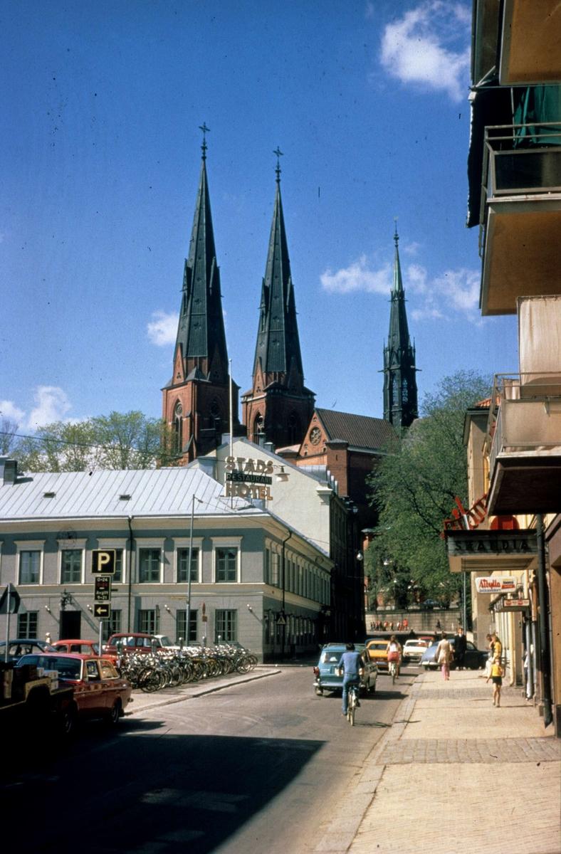 Trädgårdsgatan, Uppsala 1971