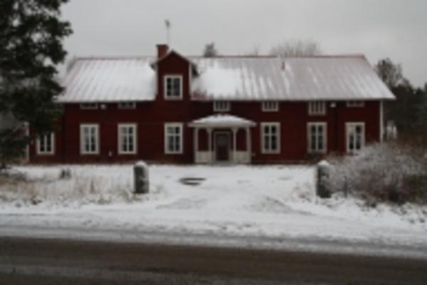 Flygfoto ver Risnge, Harbo socken, Uppland 1936