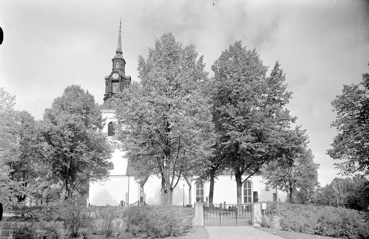 Västerlövsta kyrka, Heby, Västerlövsta socken, Uppland 1964