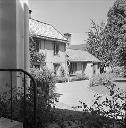 Landstingsbyggnad på Nedre Slottsgatan i kvarteret Trädgården, stadsdelen Fjärdingen, Uppsala 1959