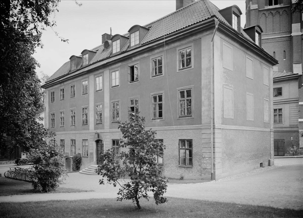 Ekermanska huset vid Universitetsparken, S:t Larsgatan 2,  Uppsala