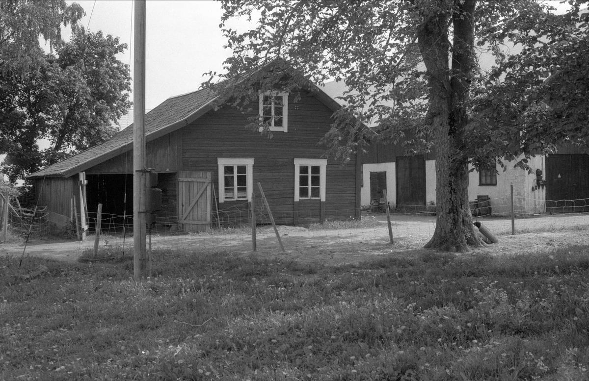 Ladugård och lider, Rörby 3:1, Bälinge socken, Uppland 1983