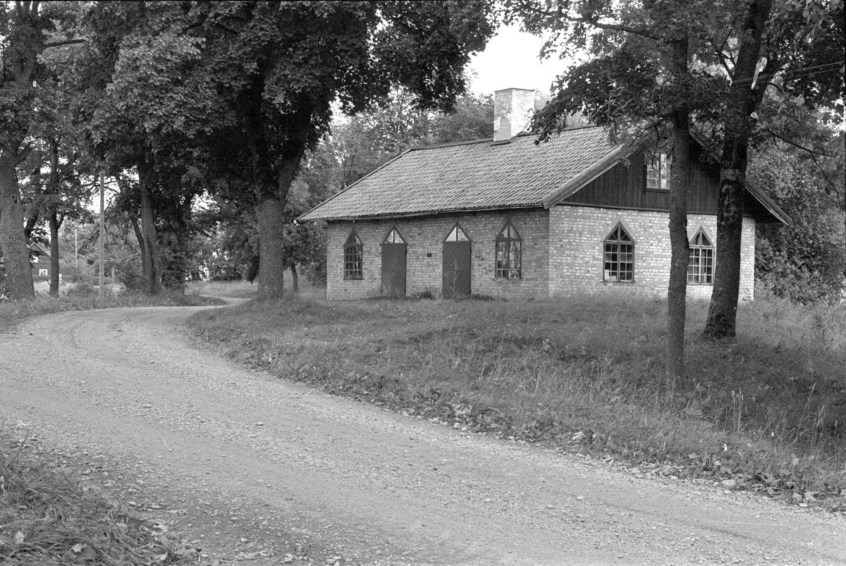 Smedja och snickarverkstad, Lena-Salsta 1:5, Salsta, Lena socken, Uppland 1978